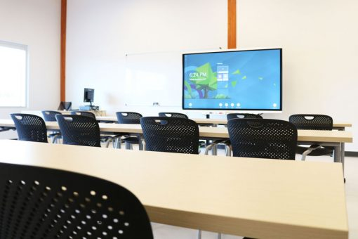 A typical classroom at our Fort Frances campus