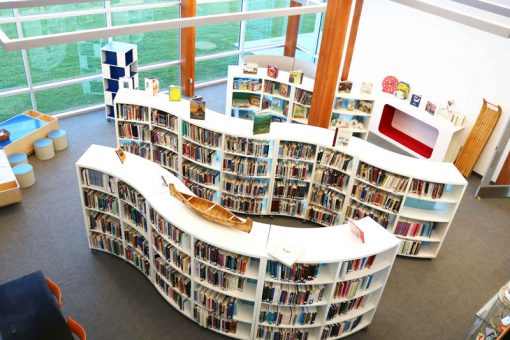 The library at our Fort Frances campus