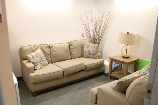 The student lounge at our Fort Frances campus