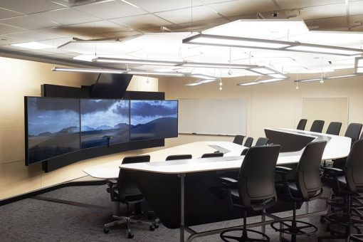 The Telepresence lab at the Kenora campus